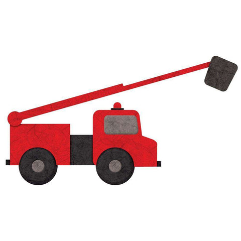 Fire Truck Wall Sticker Decal