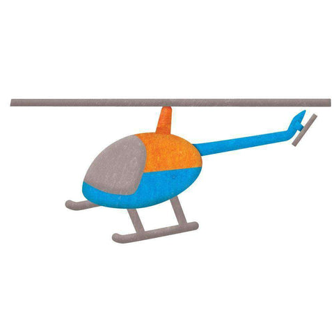Helicopter Wall Sticker Decal