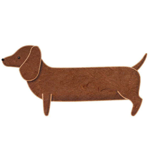 Dachshund Dog Wall Sticker Decal