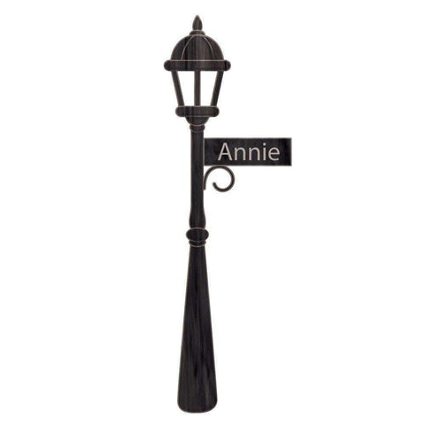 Lamp Post Wall Sticker Decal - Old Fashion Street Lamp and Sign Decal