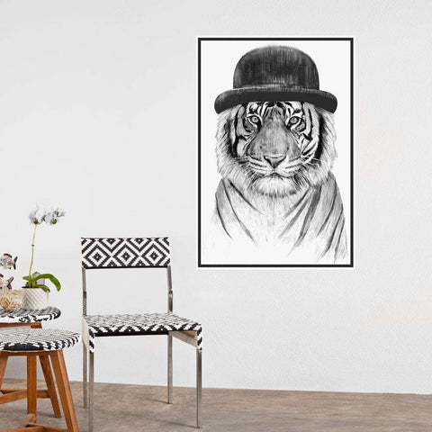 Tiger Wall Sticker - Welcome to the Jungle by Balázs Solti