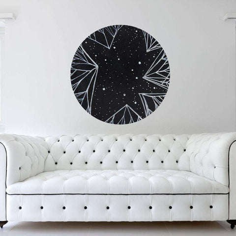 The Direction of the Stars Wall Sticker - Astronomy Art by Elise Mahan