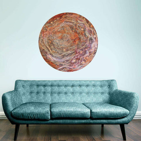 Hymns to Venus Wall Sticker - Celestial Art by Elise Mahan