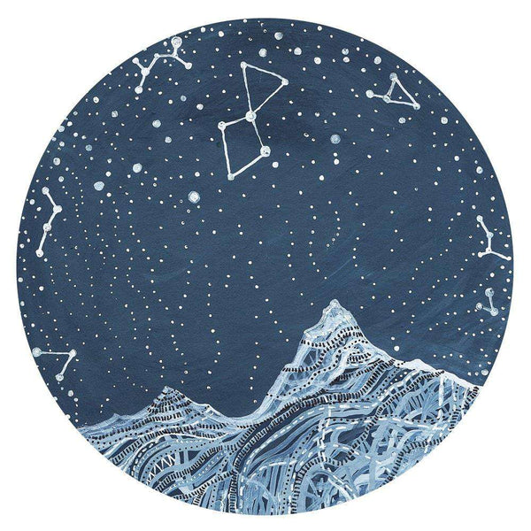 Lyra Constellation Wall Decal Astronomy Art By Elise Mahan