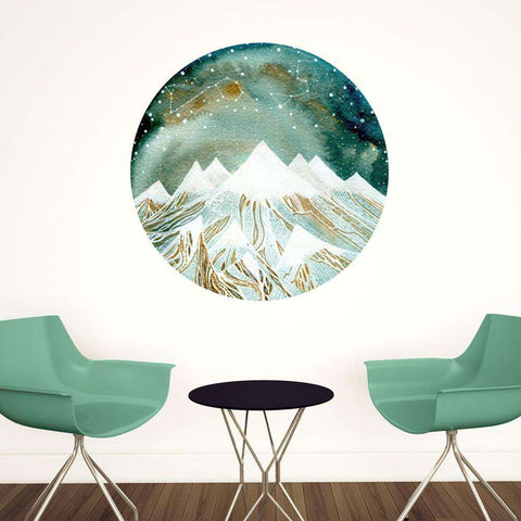 Summer Starlight Wall Decal - Zodiac Art by Elise Mahan