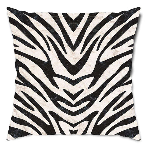Zebra Stripes Throw Pillow