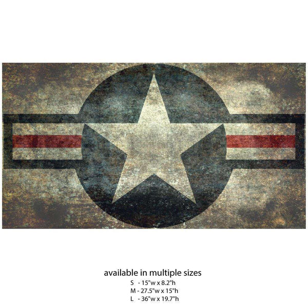 Us Air Force Roundel Star Wall Decal Flag By Bruce