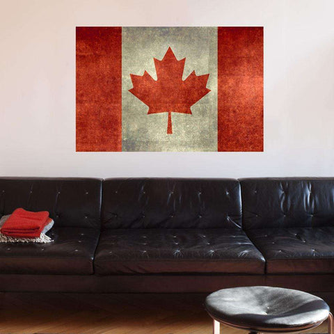 National Flag of Canada Wall Sticker Decal by Bruce Stanfield