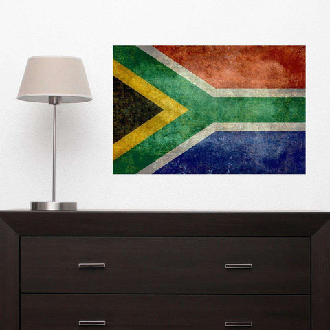 National Flag of South Africa Wall Sticker Decal by Bruce Stanfield