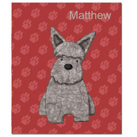 Rough and Tough Terrier Fleece Blanket