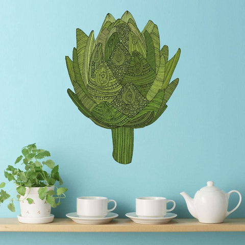 Artichoke Wall Sticker Decal – Eat Your Veggies by Valentina Harper
