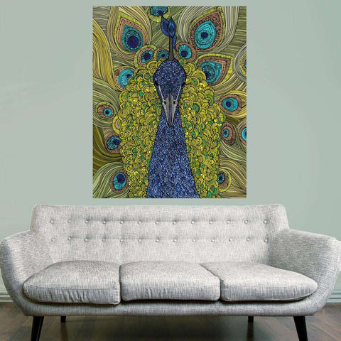 Peacock Animal Art Wall Sticker Decal – Mr. Pavo Real by Valentina Harper