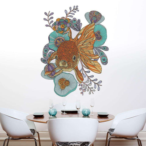 Little Fish Wall Sticker Decal by Valentina Harper