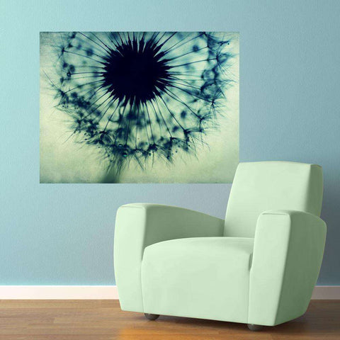 Dandelion Photography Decal –  Feeling the Blues by Ingrid Beddoes
