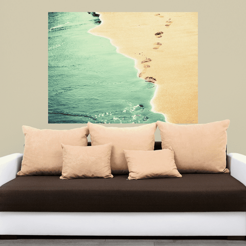 Beach Photograph Decal - Summer Love by Ingrid Beddoes