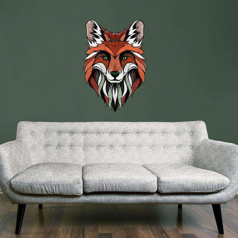 Fox Wall Sticker Decal by Andreas Preis