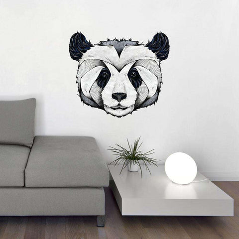 Panda Wall Sticker Decal by Andreas Preis