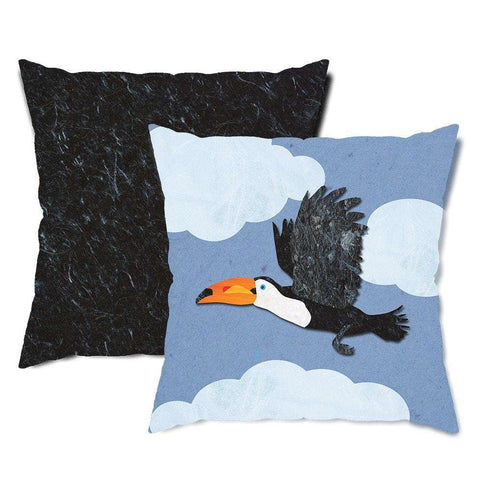 Toucan Bird Throw Pillow