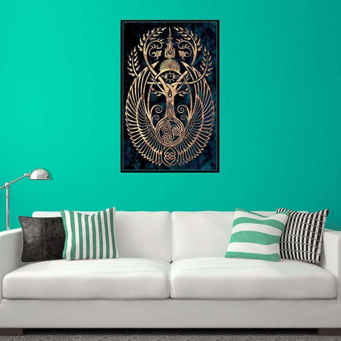 Symbolic Graphic Art Decal - Altar by Cristina McAllister