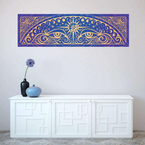 Ethereal Graphic Art Decal - Celestial Gaze by Cristina McAllister