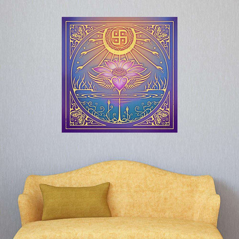 Lotus Flower Art Print - Enlightenment by Cristina McAllister