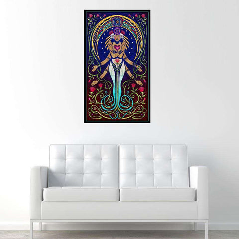 Love Goddess Graphic Decal - Love by Cristina McAllister