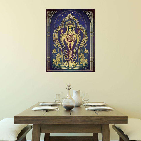 Mother Graphic Art Decal - Sacred Mother by Cristina McAllister