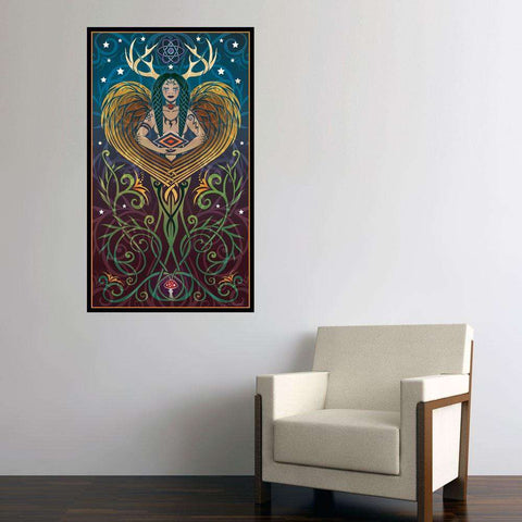 Shaman Graphic Art Decal - Shaman by Cristina McAllister