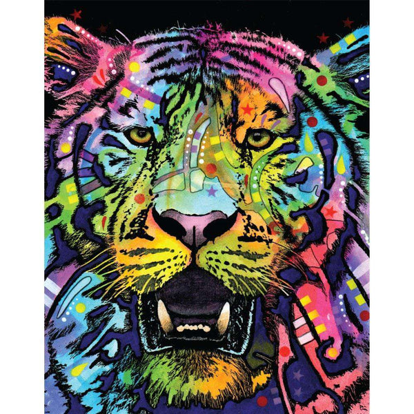 Tiger Pop Art Wall Decal Wild By Dean Russo