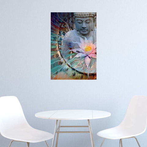 Buddha Wall Decor - Living Radiance by Christopher Beikmann