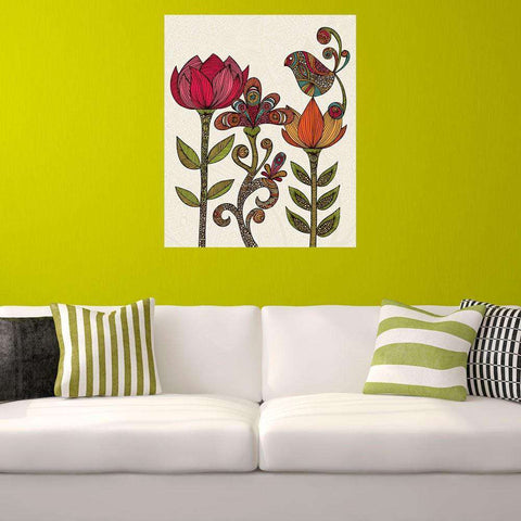 In the Garden Nature Inspired Wall Decal by Valentina Harper