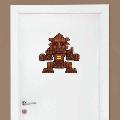 Terraria Golem Large Wall Decal