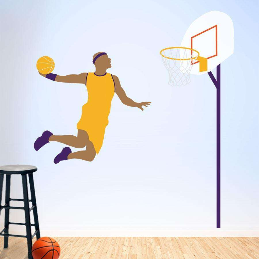 basketball theme wall mural stencils for boys room basketball wall mural stencil kit
