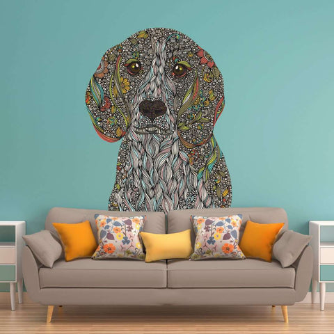 Beagle Dog Wall Decal - Zoey by Valentina Harper