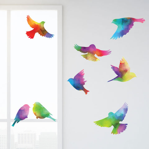 Bird Decals for Walls and Windows