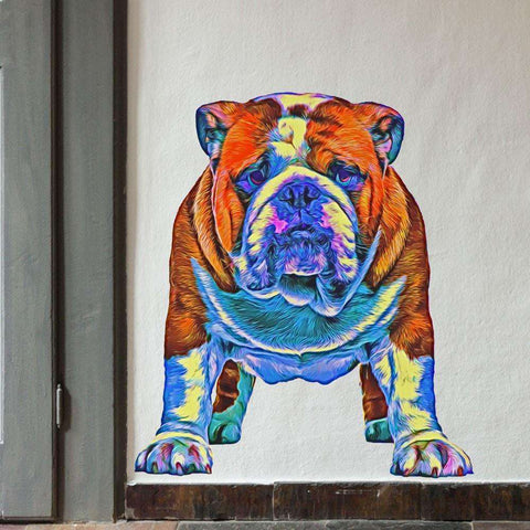 Bulldog Wall Decal