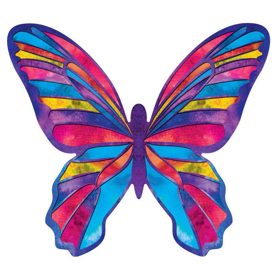 Watercolor Butterfly Wall Decals
