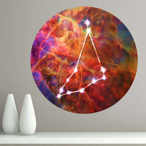 Capricorn Star Sign Wall Decal Zodiac Horoscope Astrology Symbol