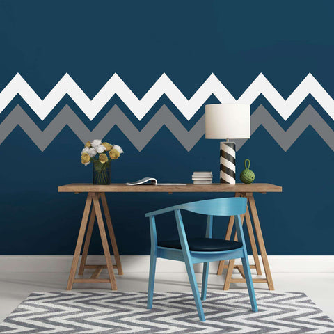 Chevron Stripe Wall Decals