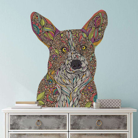 Corgi Dog Wall Decal - Holly by Valentina Harper