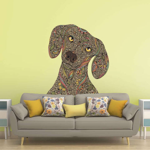 Dachshund Dog Wall Decal - Roxie by Valentina Harper