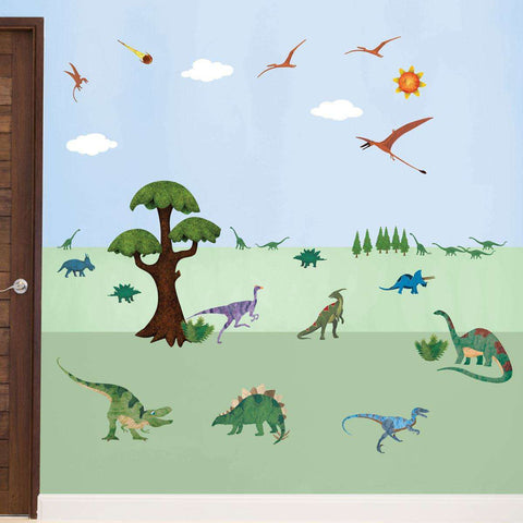 Dinosaur Wall Decals – Peel & Stick Dinosaur Wall Stickers for Dinosaur Themed Room