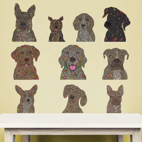 Dog Lovers Decal Variety Pack by Valentina Harper