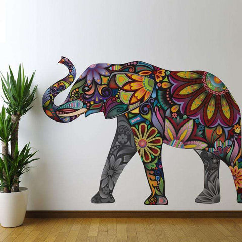 Elegant Elephant Wall Sticker