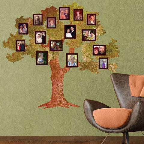 family oak tree sticker