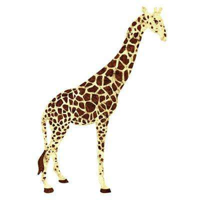 Giant Giraffe Wall Sticker