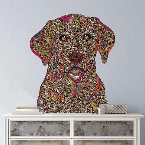Golden Labrador Retriever Dog Wall Decal - Duke by Valentina Harper