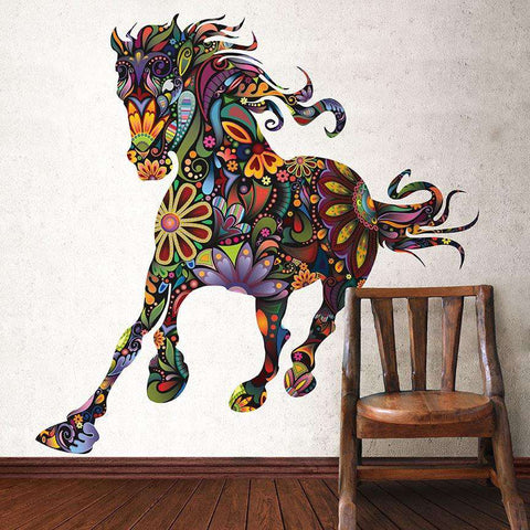 Wild Horse Wall Sticker