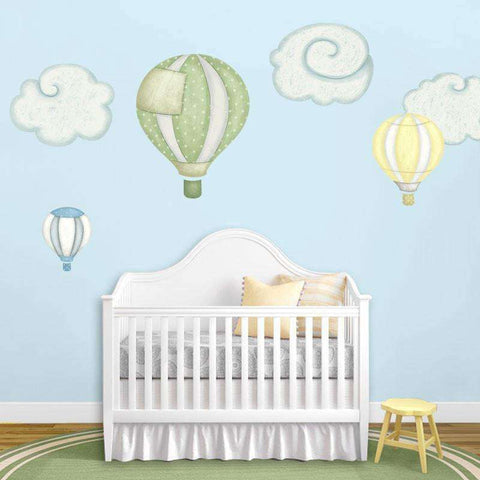 Classic Baby Nursery Stencils, Stickers and Coordinating Home Decor