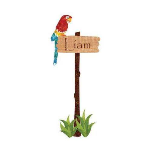 personalized jungle sign